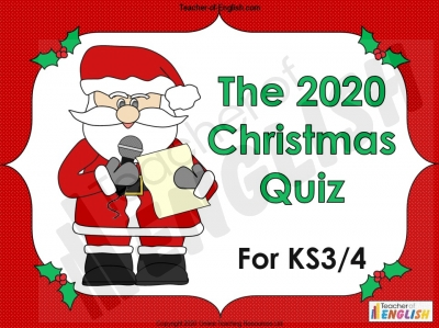 2020 Christmas Quiz for KS3 and KS4