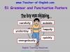 51 Grammar and Punctuation Posters (slide 1/59)