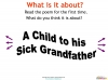 A Child to his Sick Grandfather (slide 7/35)