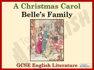 A Christmas Carol - Belle's Family Teaching Resources