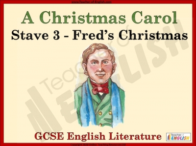 A Christmas Carol - Fred's Christmas Teaching Resources