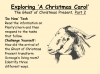 A Christmas Carol - Ghost of Christmas Present Part Two Teaching Resources (slide 3/14)