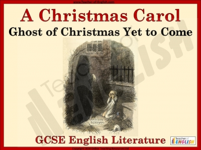 A Christmas Carol - Ghost of Christmas Yet to Come