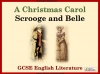 A Christmas Carol - Scrooge and Belle Teaching Resources (slide 1/19)