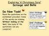A Christmas Carol - Scrooge and Belle Teaching Resources (slide 3/19)