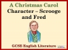A Christmas Carol - Scrooge and Fred