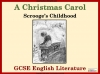 A Christmas Carol - Scrooge's Childhood Teaching Resources (slide 1/20)
