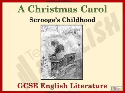 A Christmas Carol - Scrooge's Childhood Teaching Resources