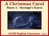 A Christmas Carol - Scrooge's Grave Teaching Resources (slide 1/16)