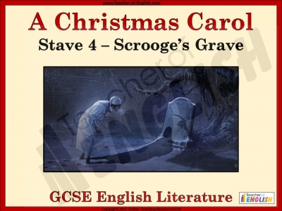 A Christmas Carol - Scrooge's Grave Teaching Resources