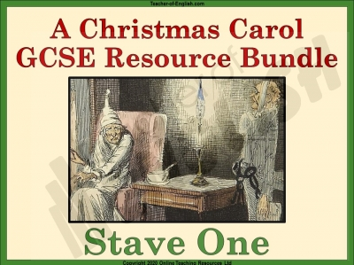 A Christmas Carol - Stave 1 Bundle Teaching Resources
