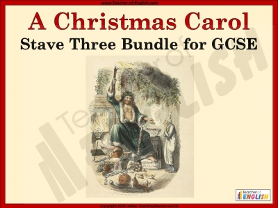 A Christmas Carol - Stave 3 Bundle