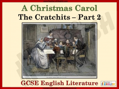 A Christmas Carol - The Cratchits Part 2 Teaching Resources