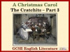 A Christmas Carol - The Cratchits Part 3 Teaching Resources (slide 1/17)
