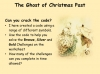 A Christmas Carol - The Ghost of Christmas Past Teaching Resources (slide 3/15)