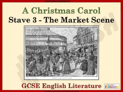A Christmas Carol - The Market Scene