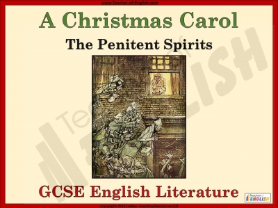 A Christmas Carol - The Penitent Spirits Teaching Resources