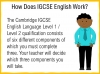 A Guide to the Cambridge IGCSE English Qualification (slide 3/19)