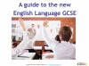 A Guide to the OCR 9-1 GCSE English Language qualification (slide 2/16)