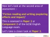 A Guide to the OCR 9-1 GCSE English Language qualification (slide 9/16)