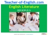 A Guide to the OCR GCSE 9-1 English Literature qualification (slide 1/12)