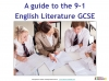 A Guide to the OCR GCSE 9-1 English Literature qualification (slide 2/12)