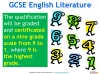 A Guide to the OCR GCSE 9-1 English Literature qualification (slide 5/12)
