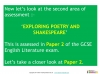 A Guide to the OCR GCSE 9-1 English Literature qualification (slide 9/12)