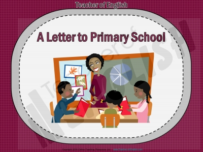 A Letter to Primary School