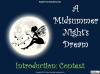 A Midsummer Night's Dream - KS3 Teaching Resources (slide 2/138)