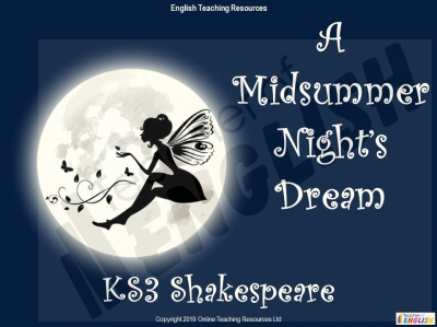 A Midsummer Night's Dream - KS3