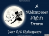 A Midsummer Night's Dream - Year 6 Teaching Resources (slide 1/131)