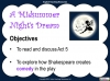 A Midsummer Night's Dream - Year 6 Teaching Resources (slide 101/131)
