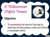 A Midsummer Night's Dream - Year 6 Teaching Resources (slide 116/131)