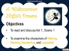 A Midsummer Night's Dream - Year 6 Teaching Resources (slide 16/131)