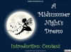 A Midsummer Night's Dream - Year 6 Teaching Resources (slide 2/131)