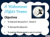 A Midsummer Night's Dream - Year 6 Teaching Resources (slide 27/131)
