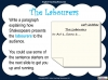 A Midsummer Night's Dream - Year 6 Teaching Resources (slide 34/131)