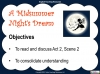 A Midsummer Night's Dream - Year 6 Teaching Resources (slide 55/131)