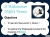 A Midsummer Night's Dream - Year 6 Teaching Resources (slide 68/131)
