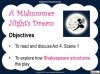 A Midsummer Night's Dream - Year 6 Teaching Resources (slide 85/131)