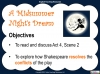 A Midsummer Night's Dream - Year 6 Teaching Resources (slide 94/131)