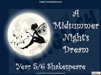 A Midsummer Night's Dream - Year 6 Teaching Resources
