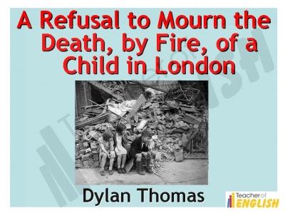 A Refusal to Mourn Teaching Resources