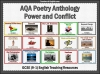 AQA 9-1 Poetry Anthology Power and Conflict Pack