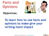 AQA 9-1 Writing to Present a Viewpoint (Paper 2 Section B) (slide 37/79)