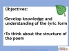 AQA GCSE English Anthology - Love and Relationships Poetry (slide 156/410)