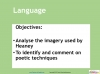 AQA GCSE English Anthology - Love and Relationships Poetry (slide 324/410)