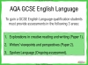 AQA GCSE English Language Exam Preparation - Paper 2 Teaching Resources (slide 2/202)