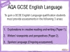 AQA GCSE English Language Exam Preparation - Paper 2 Teaching Resources (slide 93/202)